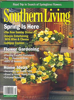 Southern Living March 2005