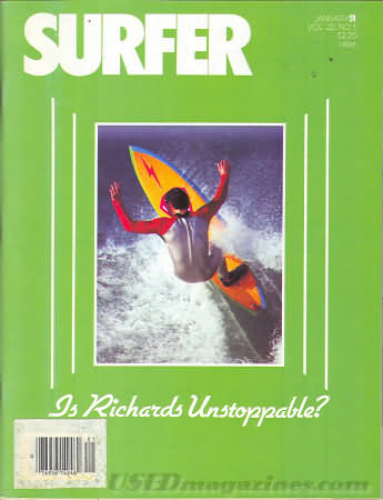 Surfer January 1981