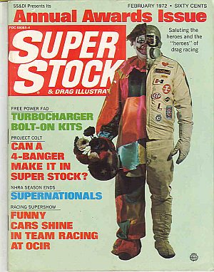 Super Stock & Dragster Illustrated February 1972
