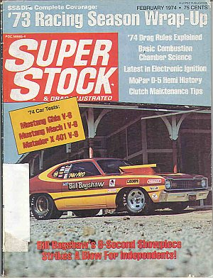 Super Stock & Dragster Illustrated February 1974