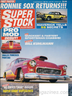 Super Stock & Dragster Illustrated June 1990