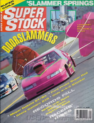 Super Stock & Dragster Illustrated January 1992