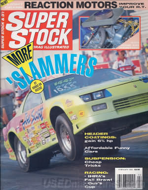 Super Stock & Dragster Illustrated February 1992