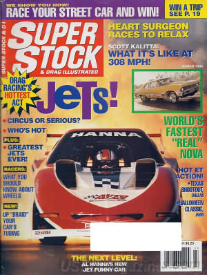 Super Stock & Dragster Illustrated March 1994
