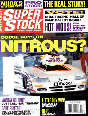 Super Stock & Dragster Illustrated February 1996