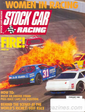 Stock Car Racing February 1992