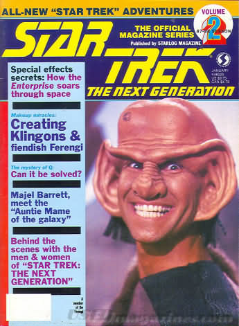 Star Trek the Next Generation Number 2