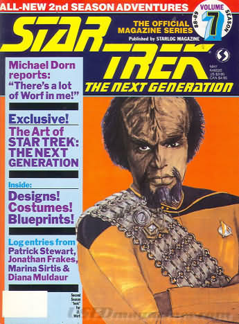 Star Trek the Next Generation Number 7