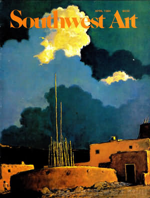 Southwest Art April 1984