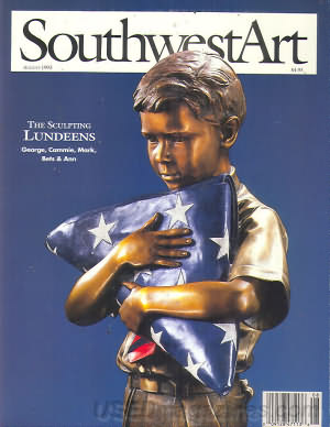 Southwest Art August 1993