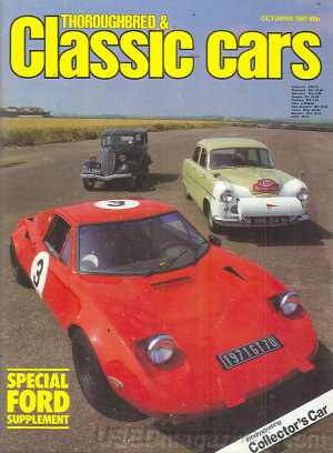 Thoroughbred & Classic Cars October 1981