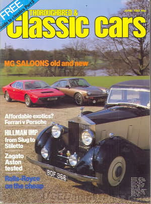 Thoroughbred & Classic Cars June 1982
