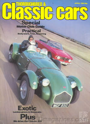 Thoroughbred & Classic Cars April 1983