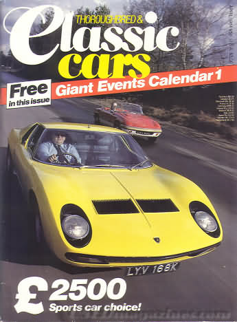 Thoroughbred & Classic Cars April 1984