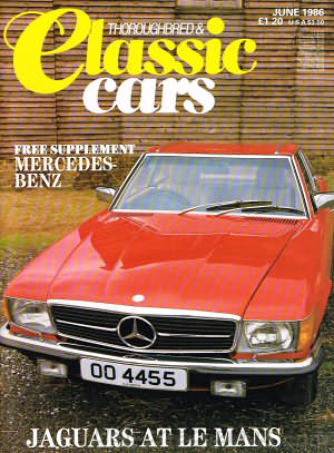 Thoroughbred & Classic Cars June 1986