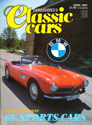 Thoroughbred & Classic Cars April 1987