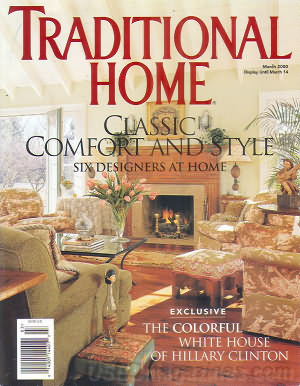 Traditional Home March 2000
