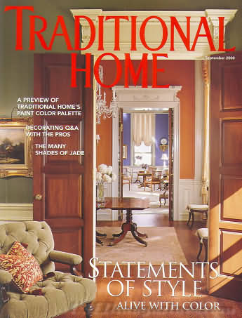 Traditional Home September 2000