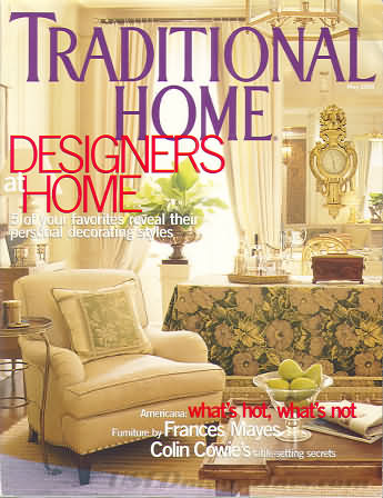 Traditional Home May 2003