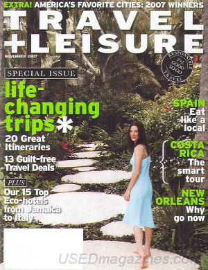 Travel & Leisure November 2007