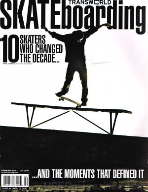 Transworld Skateboarding February 2010