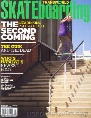Transworld Skateboarding March 2010