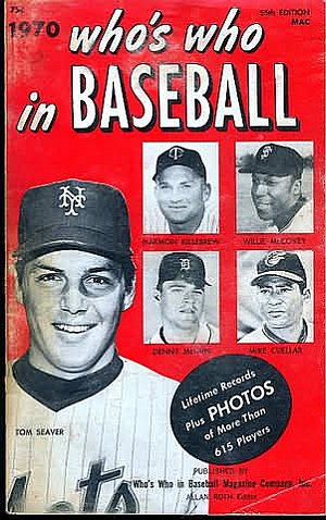 Who's Who in Baseball 1970