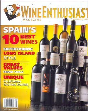 Wine Enthusiast September 2009