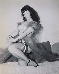 Bettie Page Photograph Number 102