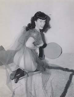 Bettie Page Photograph Number 103