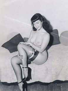 Bettie Page Photograph Number 109