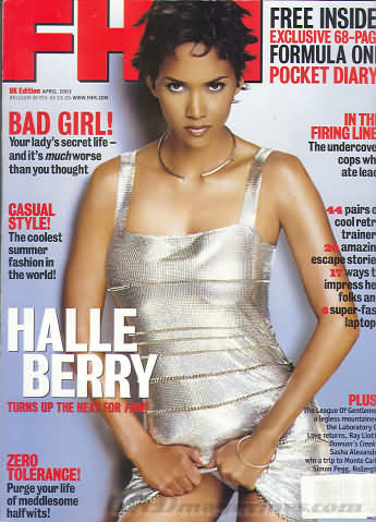FHM (U.K. Edition) April 2001